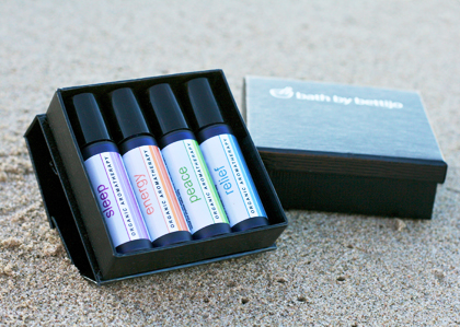 Organic Aromatherapy Set of 4 image